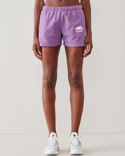 Roots-Shorts Women-Original Sweatshort 3.5 In-True Violet-A