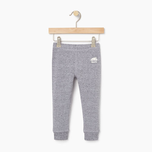 Roots-Kids Bottoms-Toddler Cozy Fleece Legging-Salt & Pepper-A