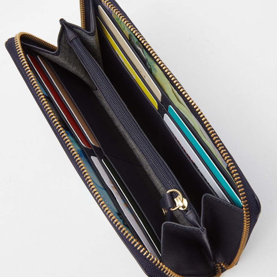Roots-undefined-Pochette Glissière Cuir Bridle-undefined-B