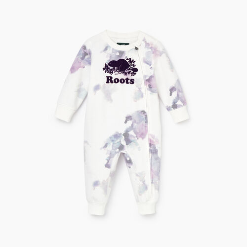 Roots-Kids Our Favourite New Arrivals-Baby Cooper Beaver Romper-Multi-A