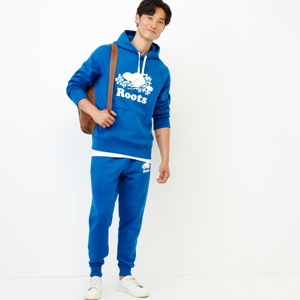 Roots-Men Our Favourite New Arrivals-Original Kanga Hoody-Olympus Blue-B