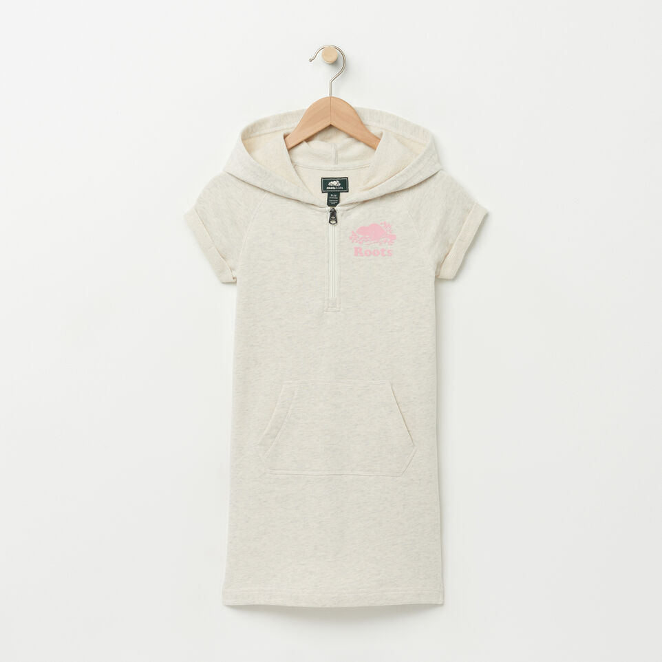 Roots-undefined-Girls Short Sleeve Hooded Dress-undefined-A