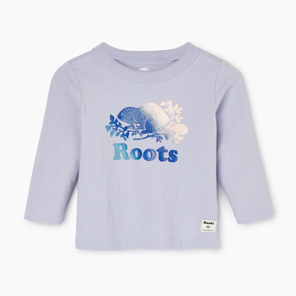 Roots-undefined-Baby Sparkle T-shirt-undefined-A