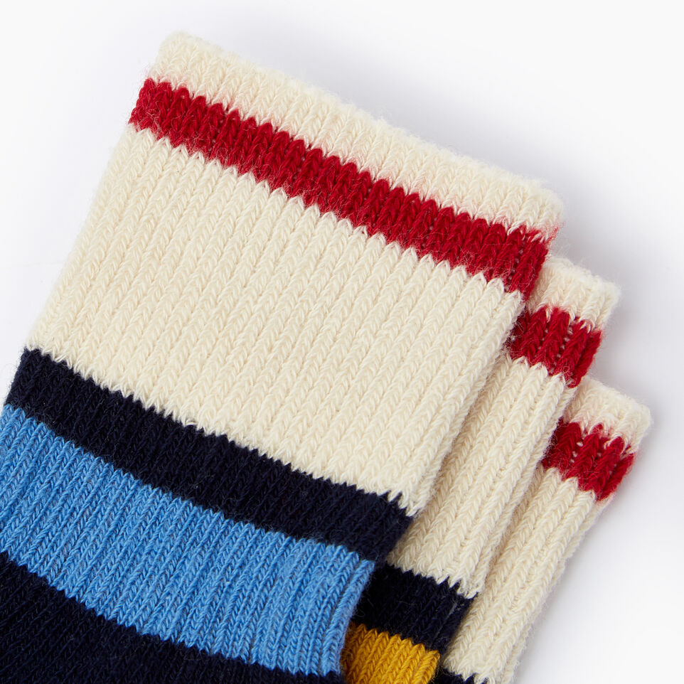 Roots-undefined-Kids Rugby Ankle Sock 3 Pack-undefined-C