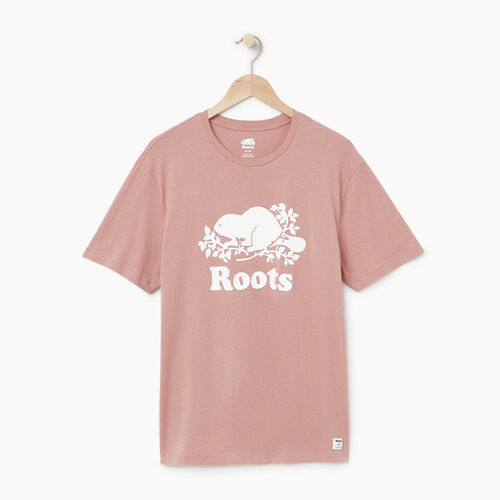 Roots-Men Our Favourite New Arrivals-Mens Cooper T-shirt-Woodrose-A