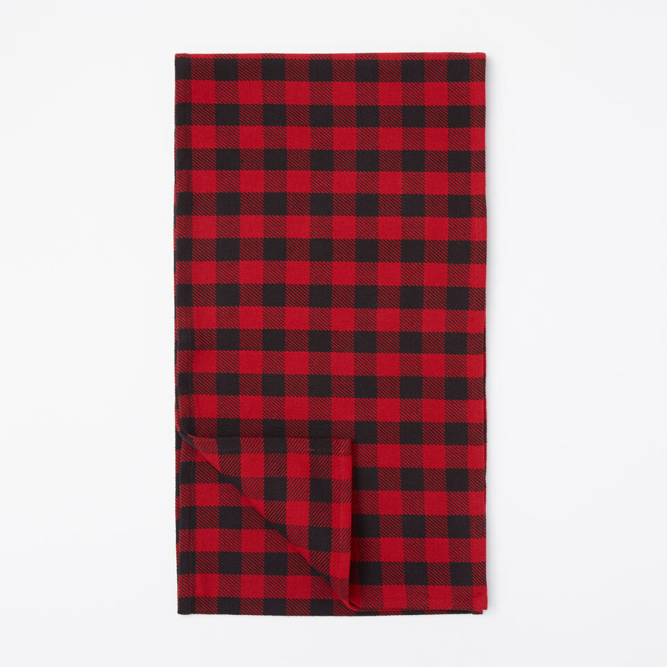 Roots-undefined-Buffalo Plaid Table Runner-undefined-A