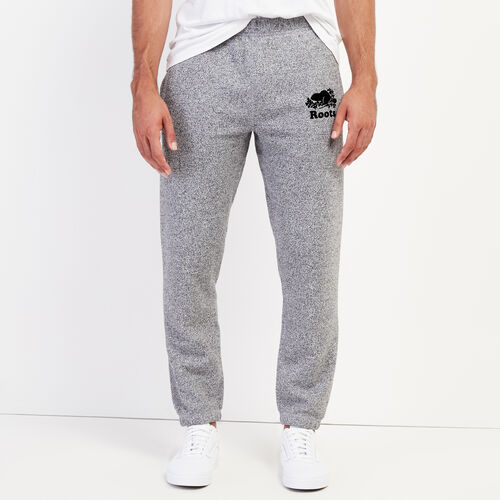 Roots-Men Bottoms-Roots Salt and Pepper Original Sweatpant - Short-Salt & Pepper-A