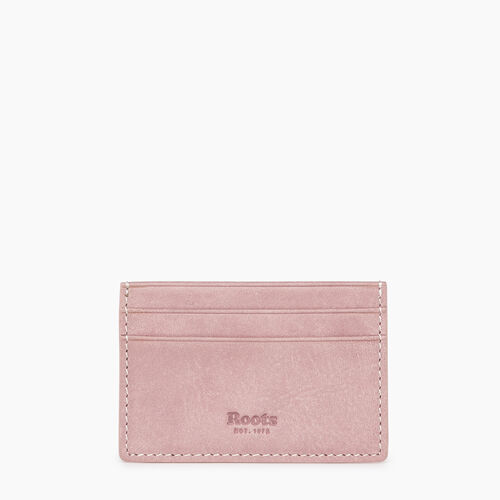 Roots-Leather  Handcrafted By Us Our Favourite New Arrivals-Card Holder Tribe-Woodrose-A
