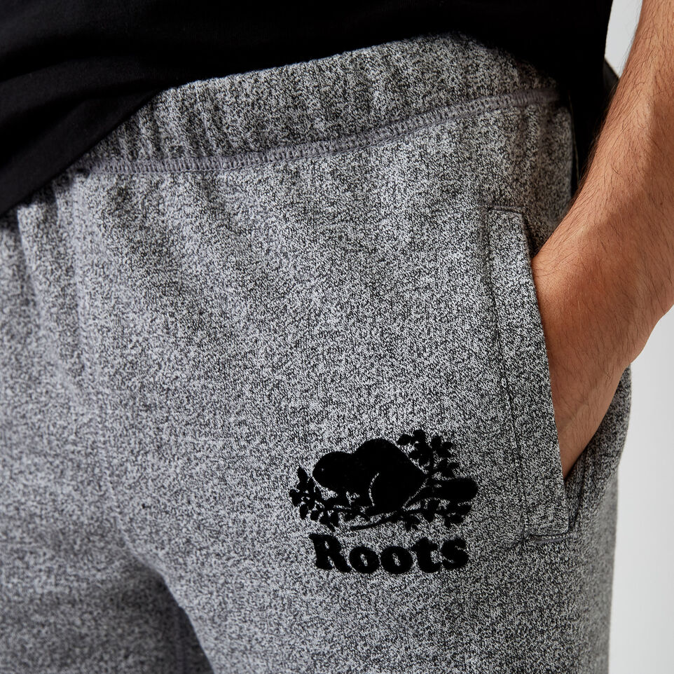 Roots-undefined-Pantalon en coton ouaté original Roots Salt and Pepper - court-undefined-E