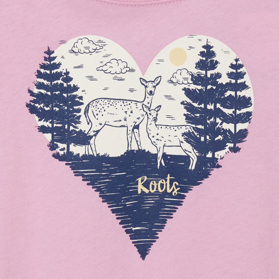 Roots-Kids Tops-Toddler Life Is Better T-shirt-Pastel Lavender-C