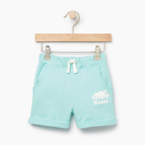Roots-Kids Our Favourite New Arrivals-Toddler Roots Beach Short-Aruba Blue-A