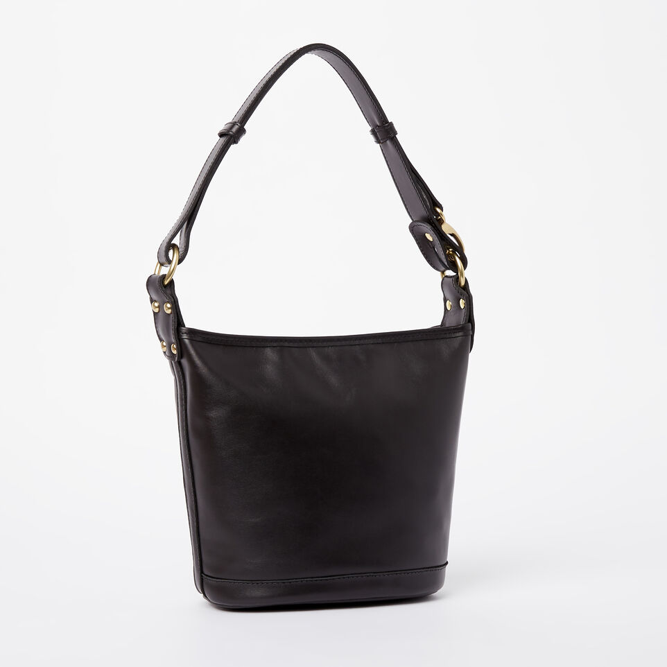 Roots-Winter Sale Leather-Feed Bag Heritage-Black-C