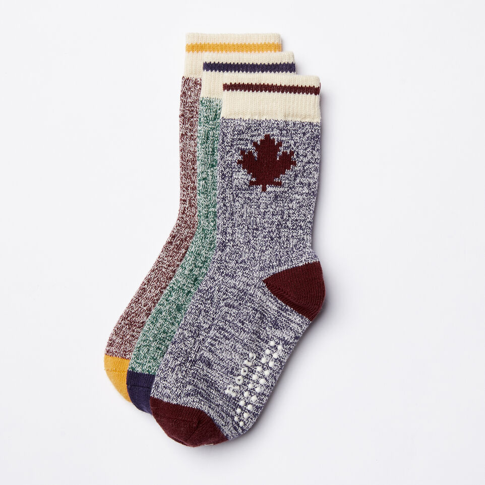 Roots-undefined-Toddler Maple Sock 3 Pack-undefined-A