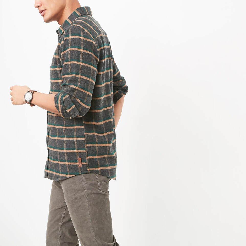 Roots-undefined-Armstrong Flannel Shirt-undefined-B