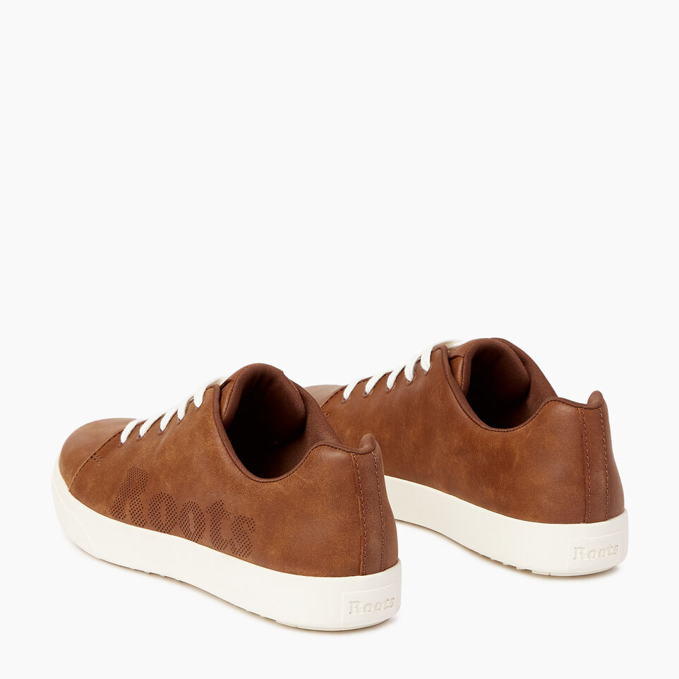 Roots-Footwear Our Favourite New Arrivals-Mens Rosedale Lace Sneaker-Natural-E