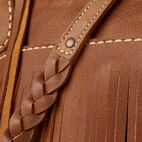 Roots-Leather  Handcrafted By Us Our Favourite New Arrivals-The Hippy Bag-Natural-E