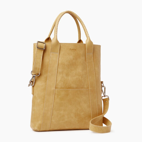 Roots-Leather  Handcrafted By Us Collections-Annex Tote-Medallion-A