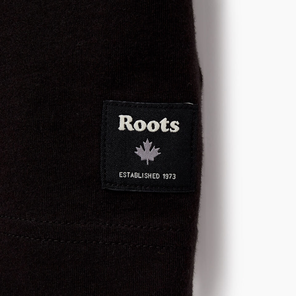 Roots-Men New Arrivals-Mens Springdale T-shirt-Black-C