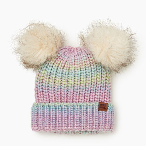 Roots-Kids Toddler Girls-Toddler Girl Sparkle Toque-Multi-A