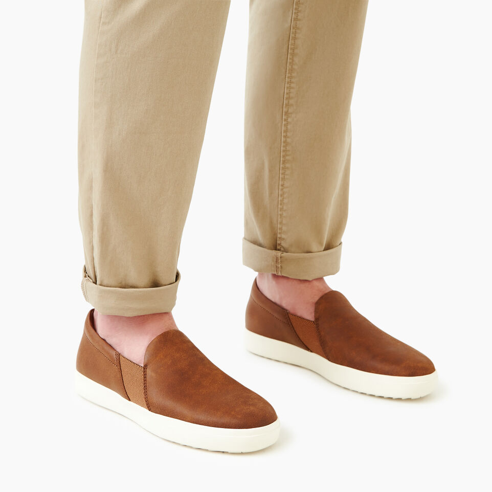 Roots-Footwear Our Favourite New Arrivals-Mens Annex Slip-on-Natural-B