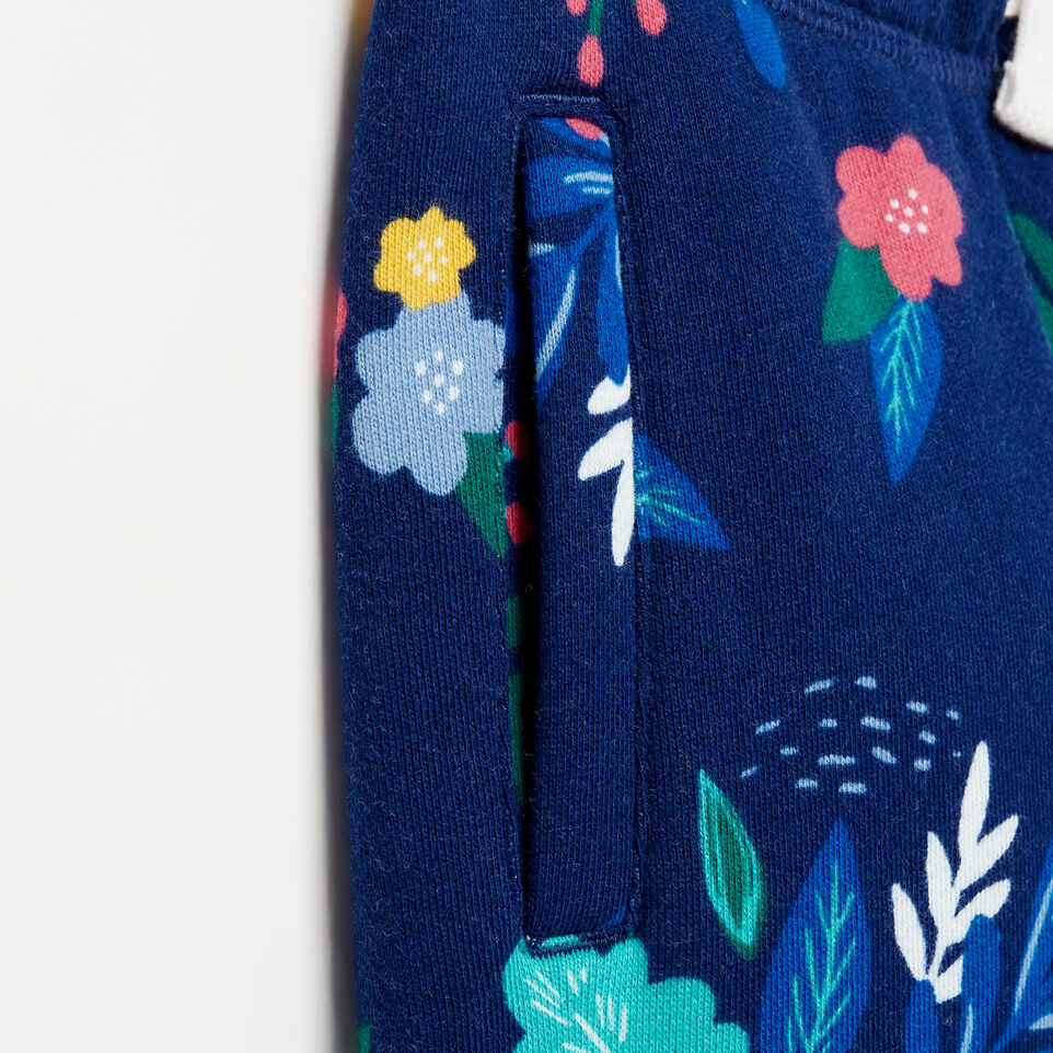 Roots-undefined-Girls Roots Remix Floral Sweatpant-undefined-E