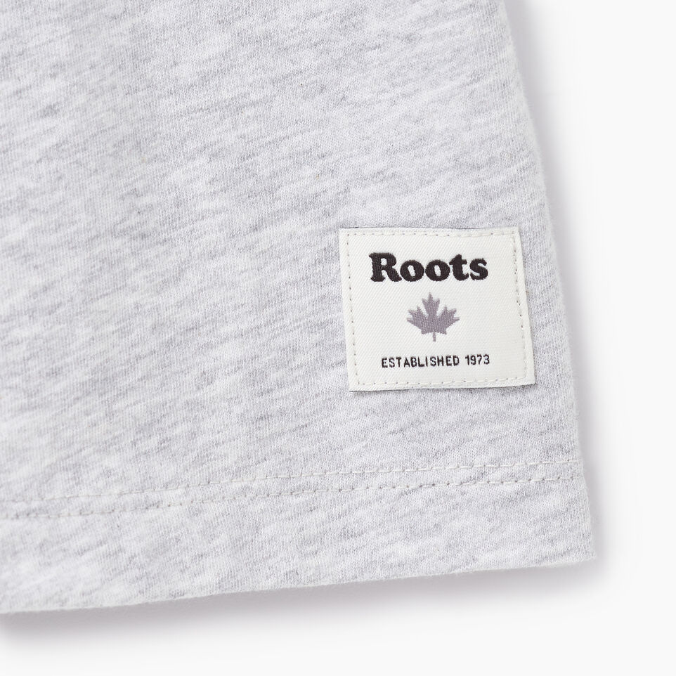 Roots-New For August Women-Womens Canada Ringer T-shirt-Snowy Ice Mix-C