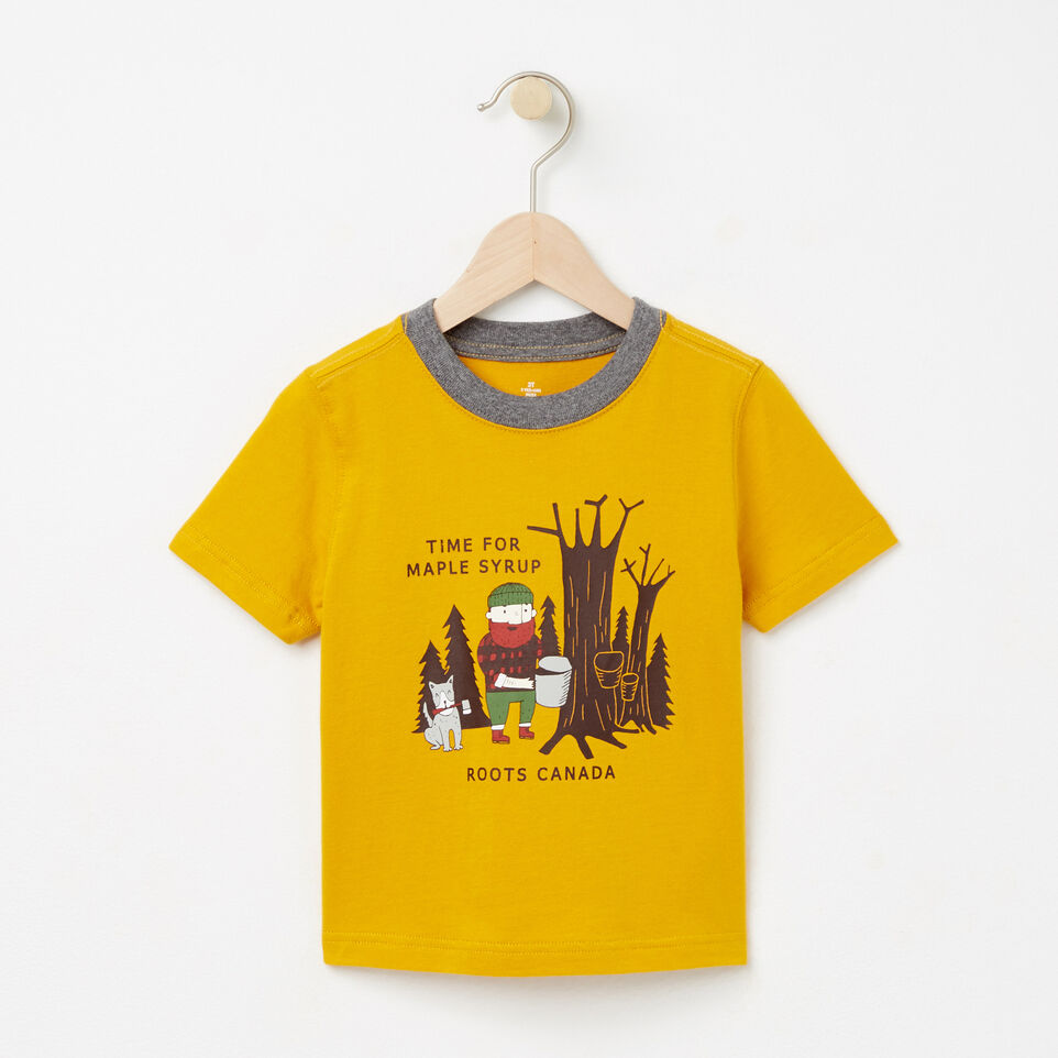 Roots-undefined-Toddler Maple Syrup Ringer T-shirt-undefined-A