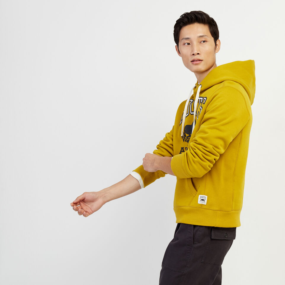 Roots-Men Our Favourite New Arrivals-RBA Kanga Hoody-Amber Green-C