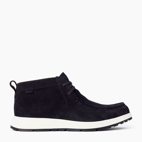 Roots-Footwear Men's Footwear-Mens Montrose Moc Shoe-Black-A