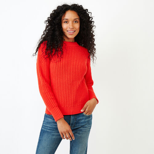 Roots-Women Categories-Ramore Sweater-Spicy Orange-A