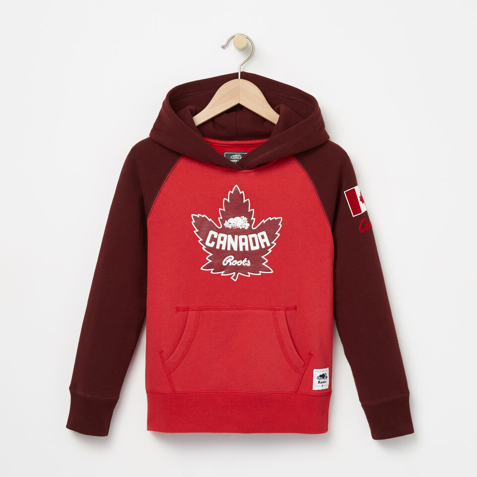 Roots-undefined-Girls Heritage Canada Kanga Hoody-undefined-A
