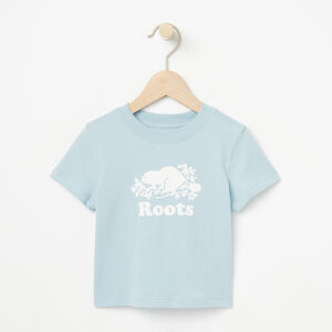 Roots-Kids Bestsellers-Baby Cooper Beaver T-shirt-Celestial Blue-A