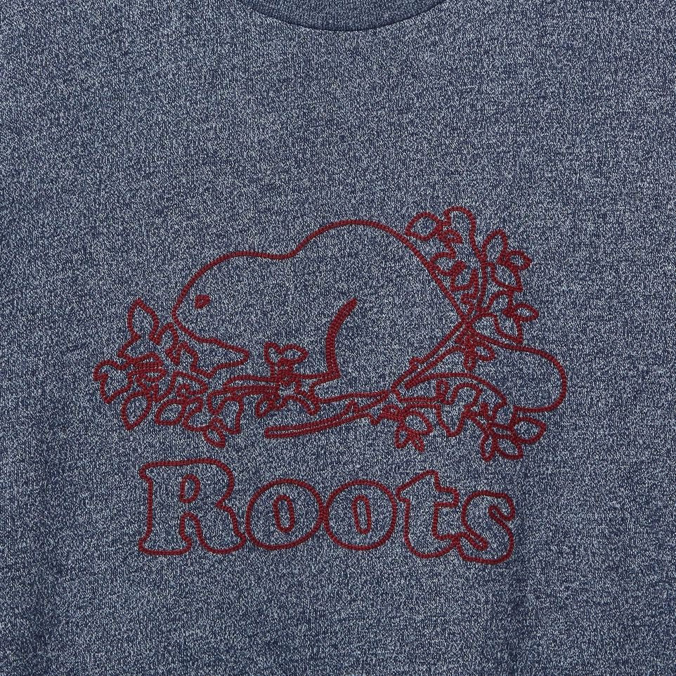 Roots-undefined-Mens Chain Beaver T-shirt-undefined-D