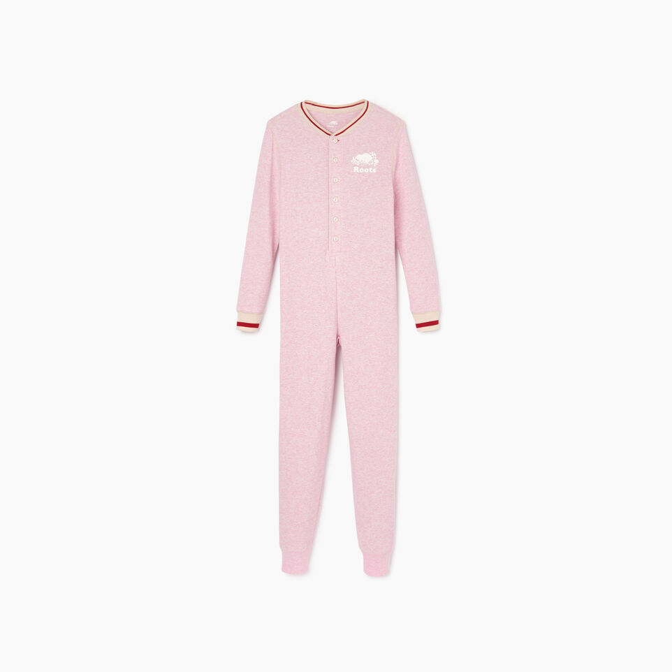Roots-Kids Our Favourite New Arrivals-Girls Roots Cabin Long John-Fragrant Lilac Mix-A