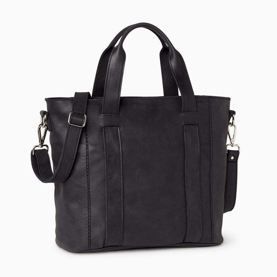 Roots-Women Categories-Victoria Tote-Jet Black-C