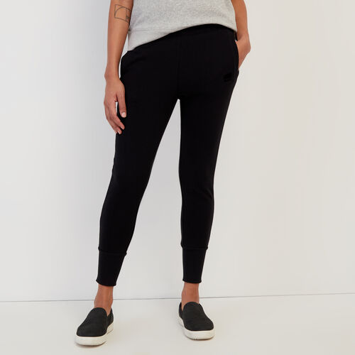 Roots-Women Bestsellers-Bonita Jogger-Black-A