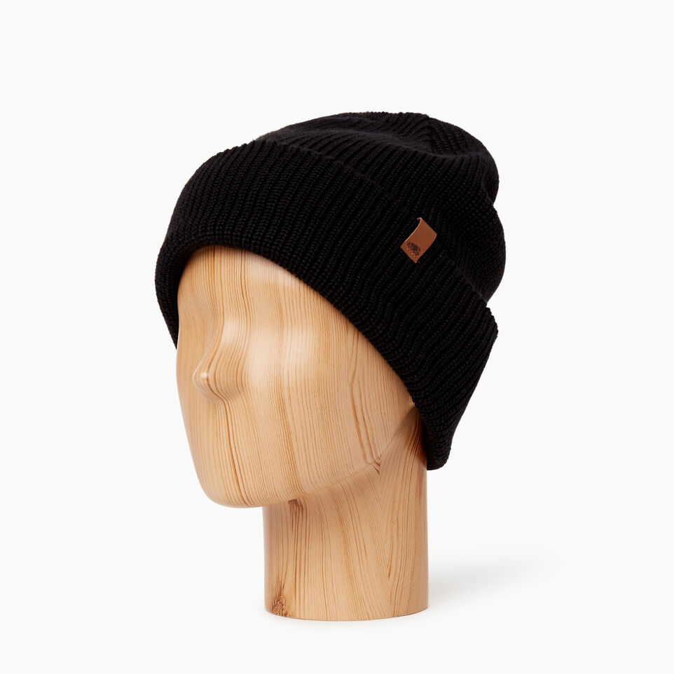 Roots-Men Categories-Hamilton Toque-Black-B