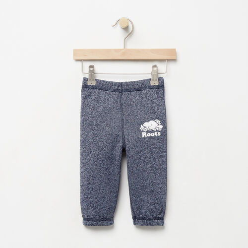 Roots-Kids Baby-Baby Original Sweatpant-Navy Blazer Pepper-A
