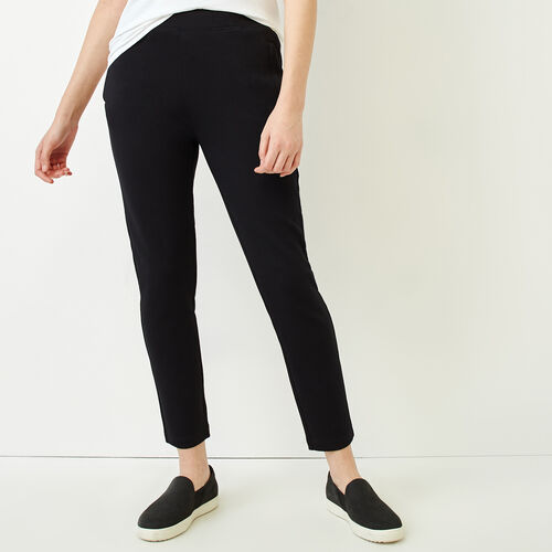 Roots-Women Categories-Roots City Pant-Black-A
