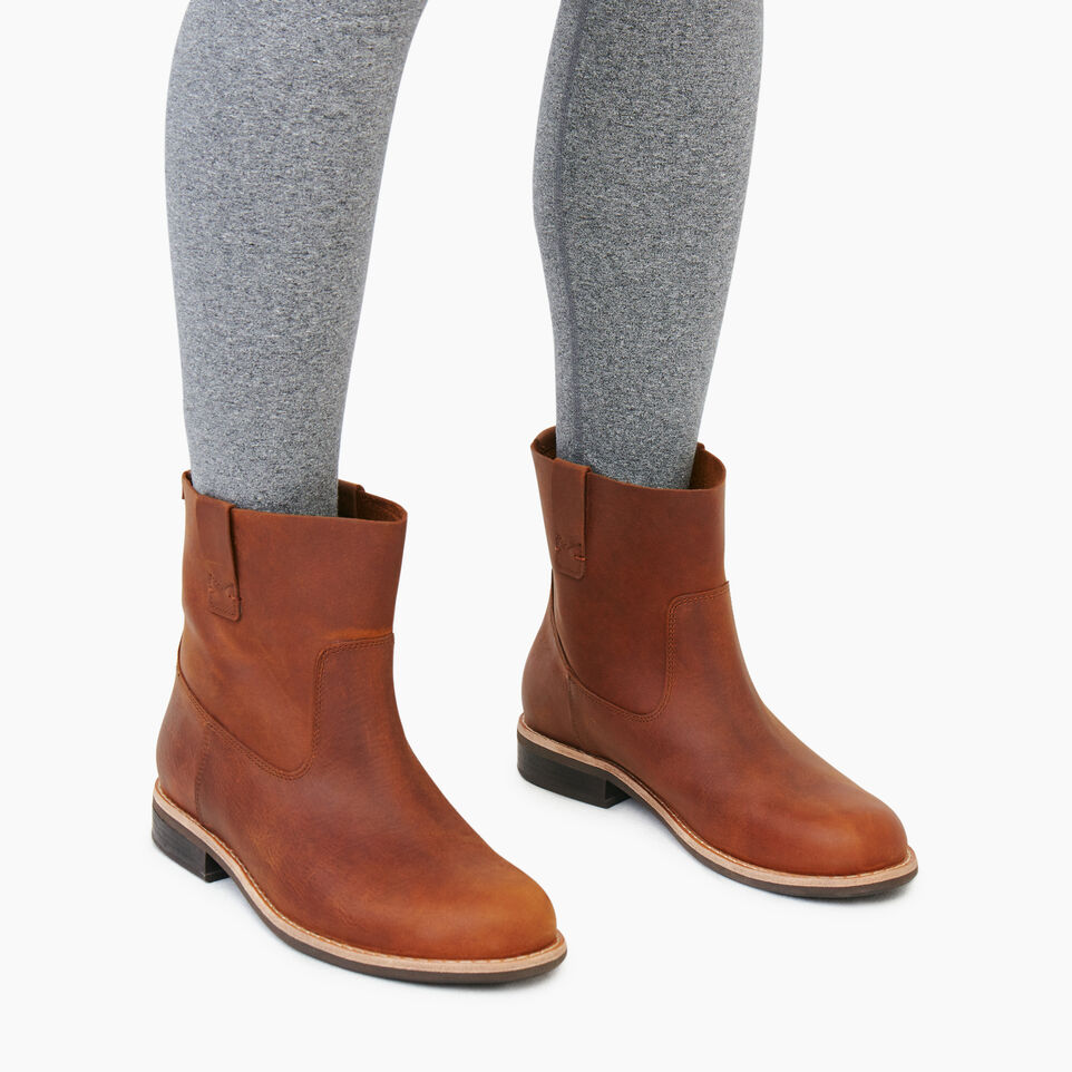 Roots-Women Categories-Womens Riverdale Shorty Boot-Natural-B