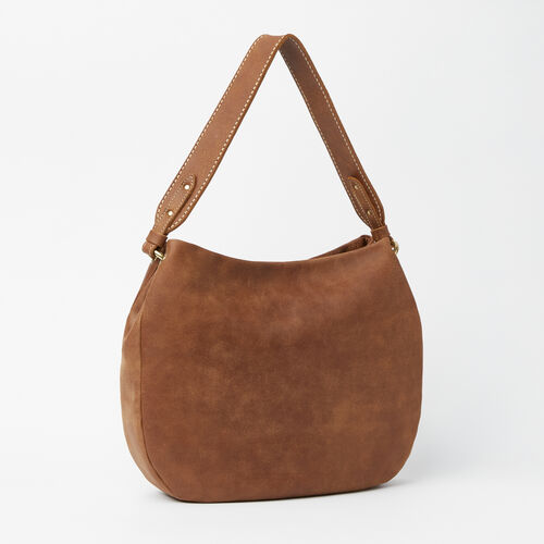 Roots-Winter Sale Leather-The Dakota Bag Tribe-Natural-A