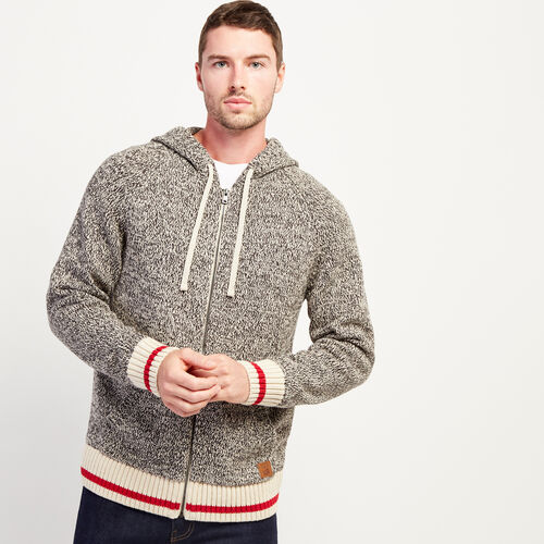 Roots-Gifts Cabin Comfort-Cotton Cabin Zip Hoody-Speckle-A