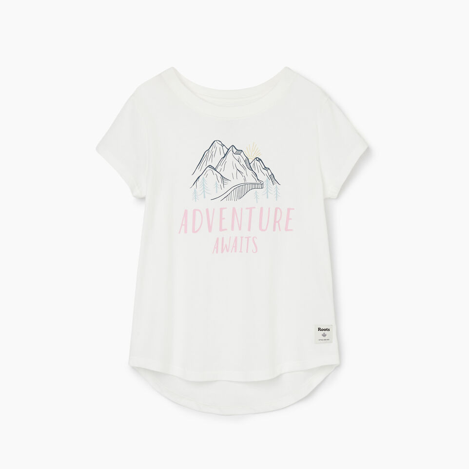 Roots-undefined-Girls Life Is Better T-shirt-undefined-A