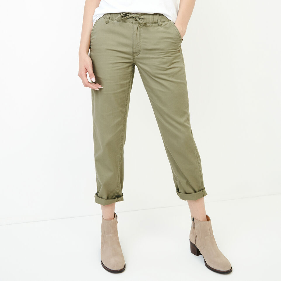 Roots-Women Categories-Bedford Slim Chino-Mermaid-A