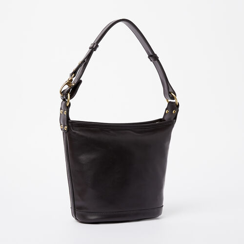 Roots-Winter Sale Leather-Feed Bag Heritage-Black-A