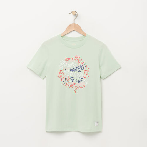 Roots-Sale Tops-Womens Outdoor T-shirt-Spray-A