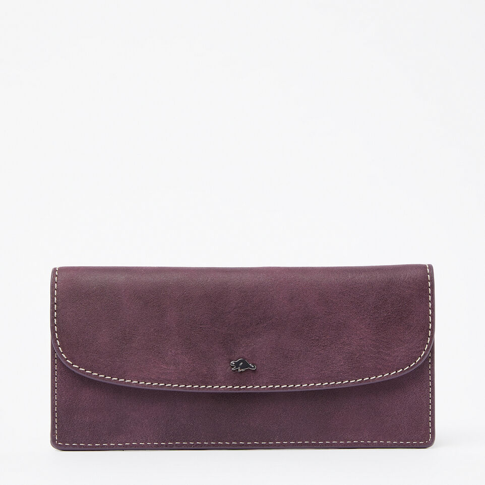 Roots-undefined-Portefeuille mince en cuir Tribe-undefined-A