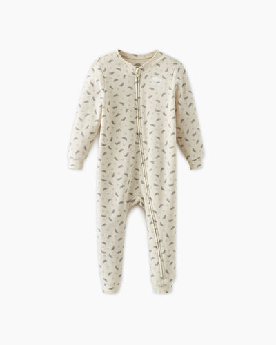Roots-Kids Baby's First-Baby's First Sleeper-Birch White-A