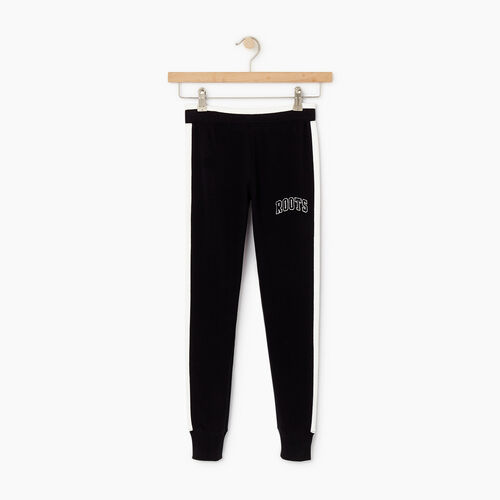 Roots-Kids Our Favourite New Arrivals-Girls 2.0 Jogger-Black-A
