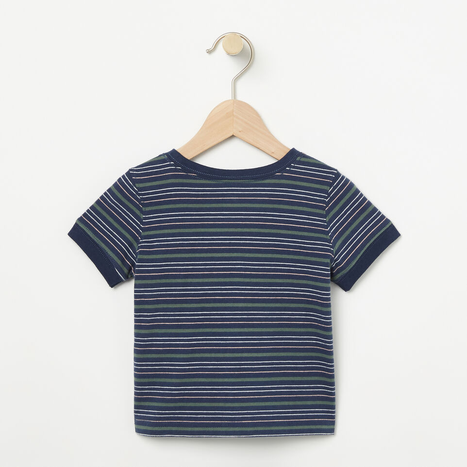 Roots-undefined-Baby Striped Ringer Top-undefined-B